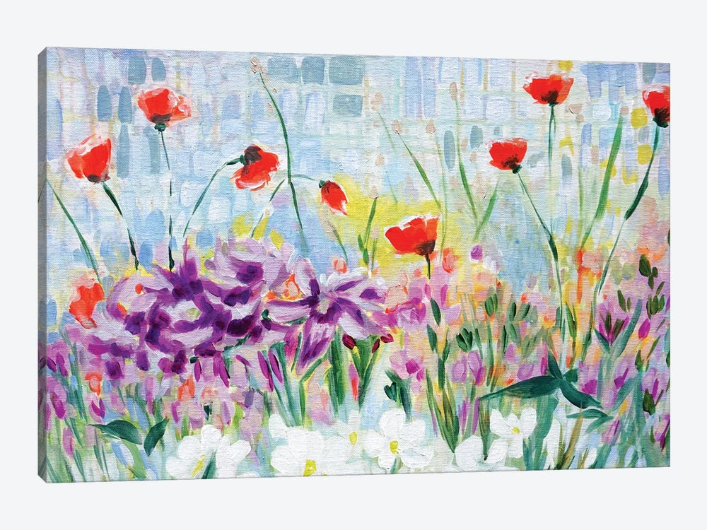 Garden of Lillies by Lauren Combs 1-piece Art Print