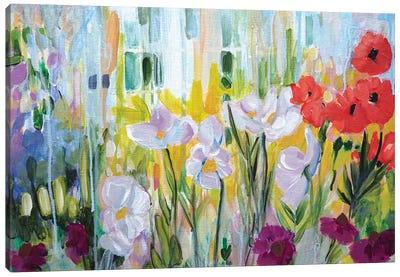 Garden of Poppies Canvas Art Print