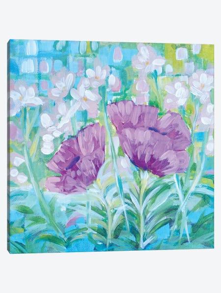 Joyful Garden Canvas Print #LCM77} by Lauren Combs Canvas Art Print
