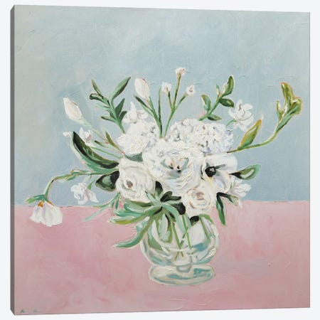 Elegant Flowers Canvas Print #LCM8} by Lauren Combs Canvas Print