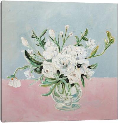 Elegant Flowers Canvas Art Print