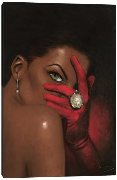 Red Velvet Canvas Art Print