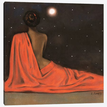 Evening Repose Canvas Print #LCO6} by Laurie Cooper Canvas Art