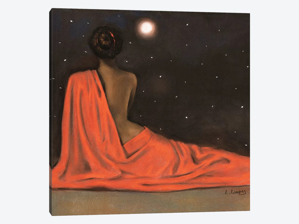 Evening Repose by Laurie Cooper 1-piece Art Print