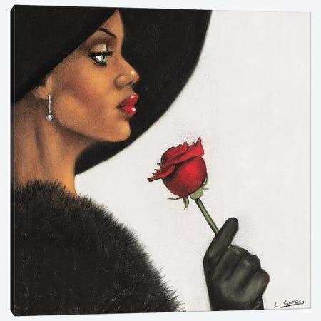 Rosé Canvas Print #LCO7} by Laurie Cooper Canvas Art
