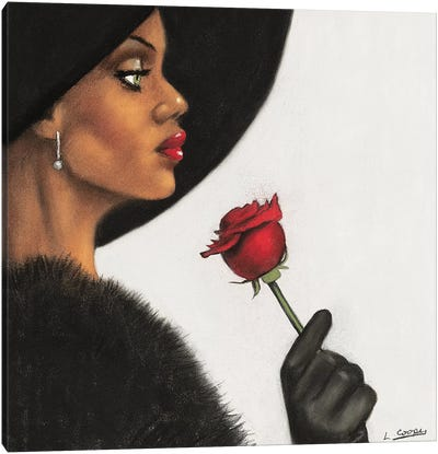 Rosé Canvas Art Print