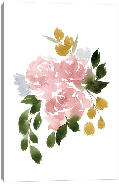 Amelia's Garden I Canvas Art Print