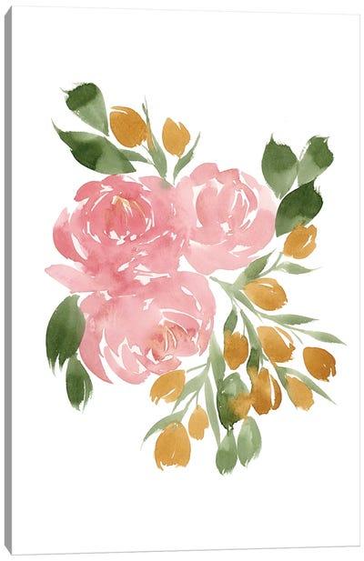 Amelia's Garden II Canvas Art Print