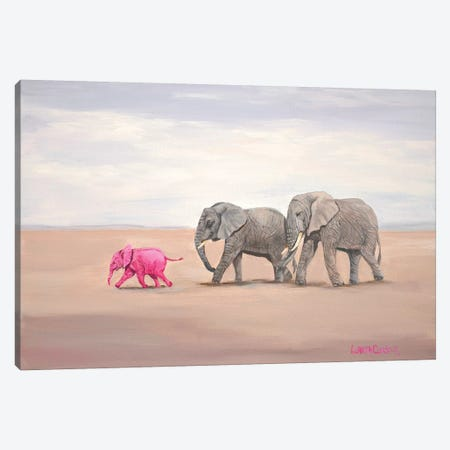 Going To The Beach Canvas Print #LCR16} by Laura Curtin Canvas Art