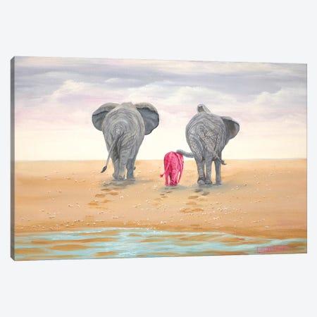 Headed Home Canvas Print #LCR19} by Laura Curtin Canvas Print