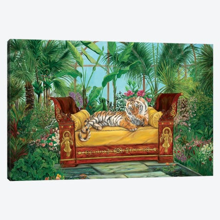 Jasmime's Garden Canvas Print #LCR20} by Laura Curtin Canvas Art