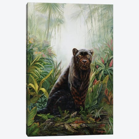 Jungle Shadow 3-Piece Canvas #LCR21} by Laura Curtin Canvas Wall Art