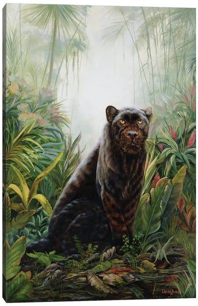 Jungle Shadow Canvas Art Print