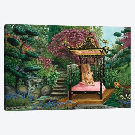 Koshi's Garden Canvas Print #LCR22} by Laura Curtin Canvas Wall Art