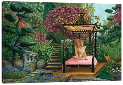 Koshi's Garden Canvas Art Print
