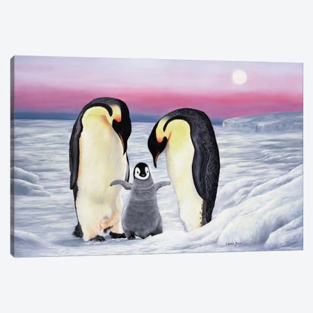 Look Who's Walking Canvas Print #LCR25} by Laura Curtin Canvas Art Print