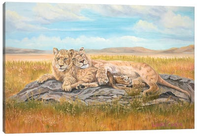Reunited Canvas Art Print