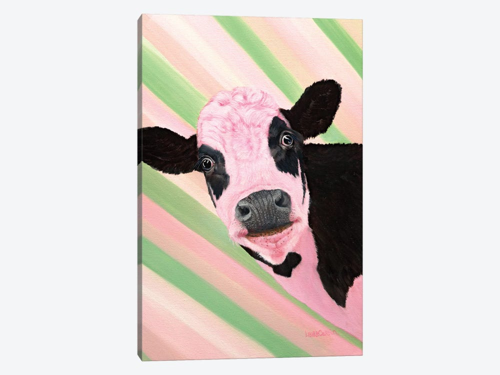 Sweetpea by Laura Curtin 1-piece Canvas Art