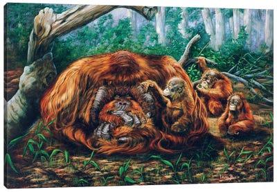 The Babysitter Canvas Art Print