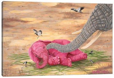 Tickle Me Canvas Art Print