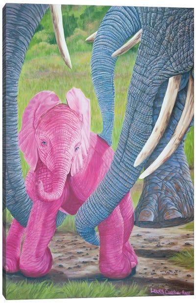 Love Lifts Us Up Canvas Art Print