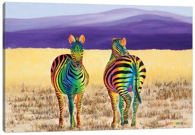 Color Of Friendship Canvas Art Print