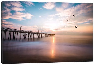 Virginia Beach Sunrise Canvas Art Print