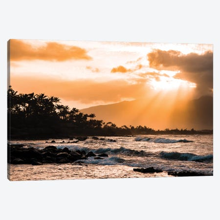 Warm Paradise Canvas Print #LCS103} by Lucas Moore Canvas Artwork