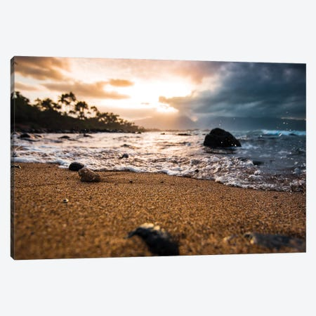 Warm Seashore Canvas Print #LCS104} by Lucas Moore Art Print