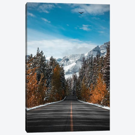 Winter Road Canvas Print #LCS107} by Lucas Moore Canvas Art Print