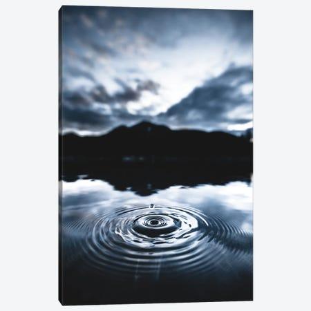 Blue Drop Canvas Print #LCS117} by Lucas Moore Canvas Art