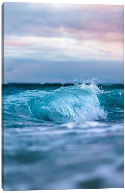 Blue Waves Canvas Art Print