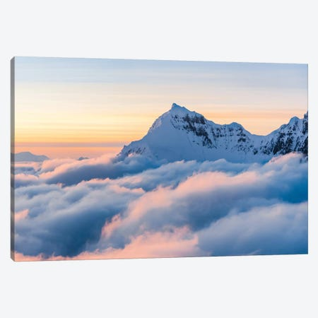 Above The Clouds Canvas Print #LCS1} by Lucas Moore Canvas Artwork