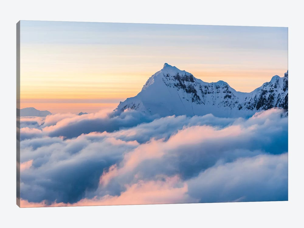 Above The Clouds by Lucas Moore 1-piece Canvas Art