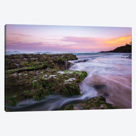 Colorful Sunrise Canvas Print #LCS23} by Lucas Moore Canvas Print