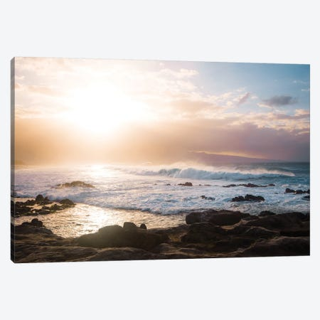 Colorful Waves Canvas Print #LCS24} by Lucas Moore Canvas Wall Art