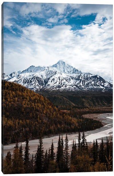 Alaskan Autumn Canvas Art Print