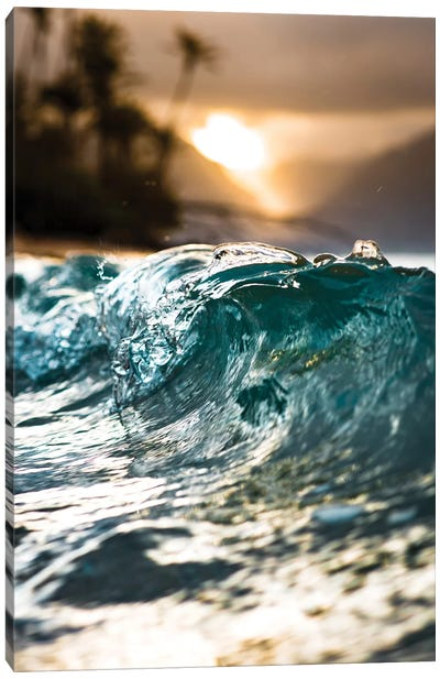 Glassy Wave Canvas Art Print