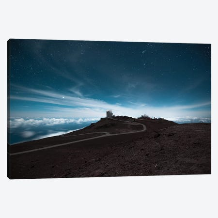 Haleakala At Night Canvas Print #LCS38} by Lucas Moore Canvas Artwork
