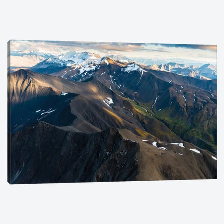 Alaskan Landscape Canvas Print #LCS3} by Lucas Moore Canvas Wall Art