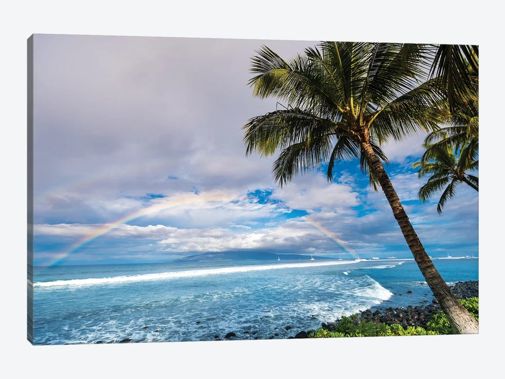 Hawaiian Landscape Canvas Artwork By Lucas Moore Icanvas