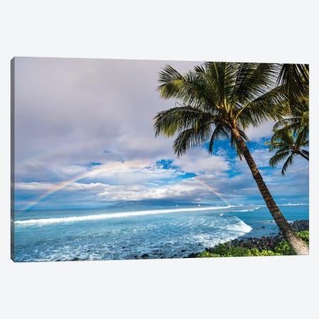 Hawaiian Landscape Canvas Print #LCS41} by Lucas Moore Art Print