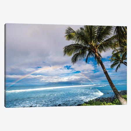 Hawaiian Landscape Canvas Print #LCS41} by Lucas Moore Art Print