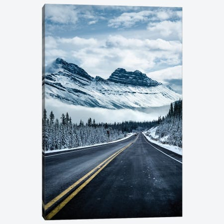 Icy Roads Canvas Print #LCS43} by Lucas Moore Art Print