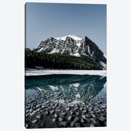 Lake Louise Reflection Canvas Print #LCS47} by Lucas Moore Canvas Artwork