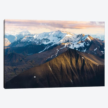 Alaskan Mountains 3-Piece Canvas #LCS4} by Lucas Moore Art Print