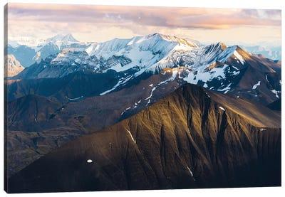 Alaskan Mountains Canvas Art Print
