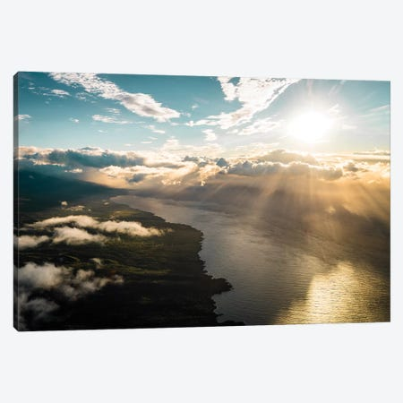 Maui From Above Canvas Print #LCS55} by Lucas Moore Canvas Art Print