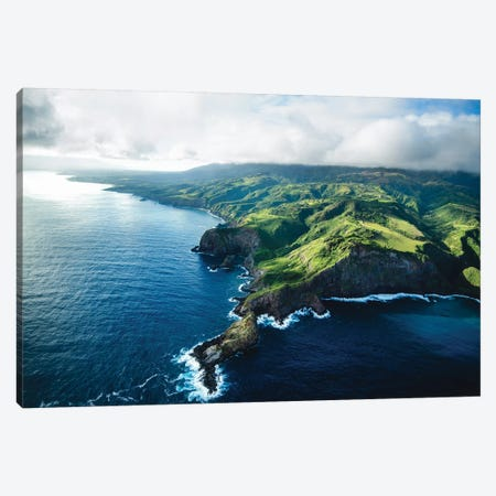 Maui Land & Sea Canvas Print #LCS56} by Lucas Moore Art Print