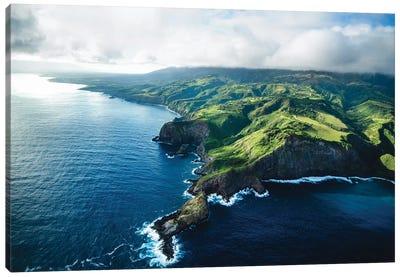 Maui Land & Sea Canvas Art Print